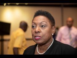 Minister of  Sport Olivia Grange.