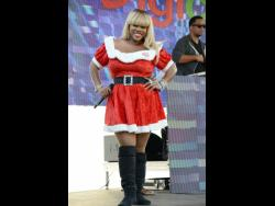 Miss Kitty was Mrs Claus in 2013.