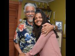 Tommy Cowan and his wife Carlene Davis.