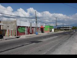 Port Henderson Road in Portmore, St Catherine.