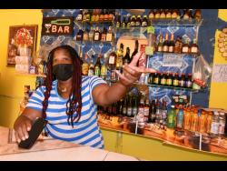 Cocoa Ridge resident Georgia Burrell laments the impact of poor Internet service in the community as well as slow sales at her bar, due to the COVID-19 pandemic.