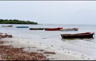 Rocky Point beach in St Thomas.