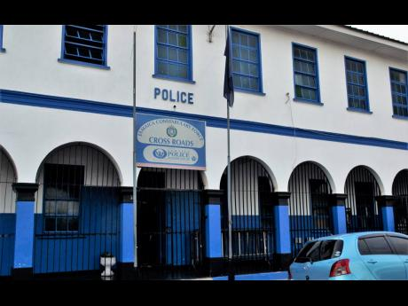 The Cross Roads Police Station.
