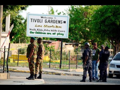 Gladstone Taylor/Multimedia Photo Editor The sign at the entrance of Tivoli Gardens.