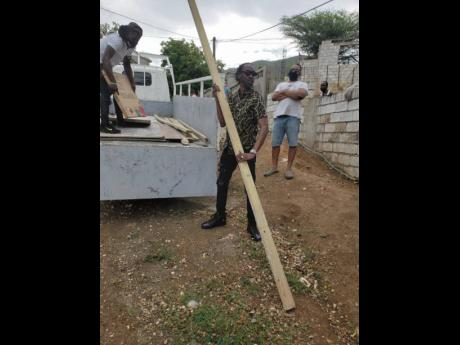 The 'Poor People's Governor', Bounty Killer, through his foundation, recently made a donation of $100,000 and building materials to assist a young girl who was struggling to finish a one-bedroom, one-bathroom house in the Harbour View, St Andrew community.