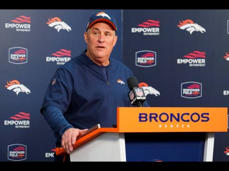 Denver Broncos head coach Vic Fangio speaks after an NFL game against the Oakland Raiders in Denver, Colorado, on Sunday, December 29, 2019.