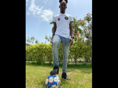 Vere United's Ricardo Messam